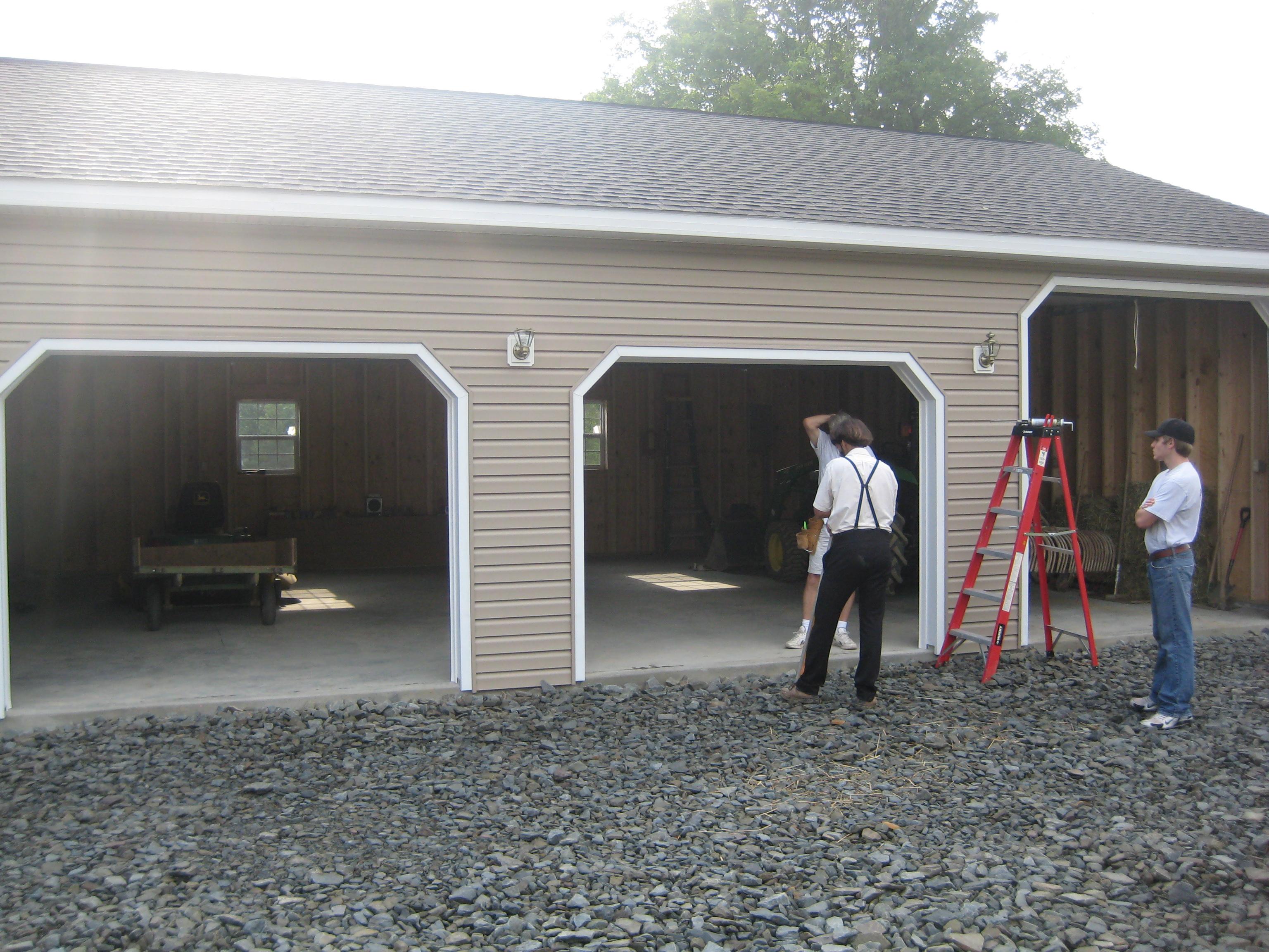 Blachet 3 Car Garage